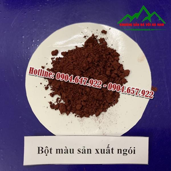 bot-mau-oxit-sat-do-nau-red-h101-Cong-ty-Khoang-San-Da-Voi-Ha-Nam