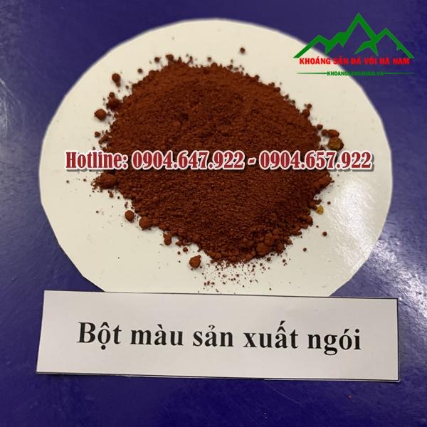 bot-mau-oxit-sat-do-cam-tuoi-Cong-ty-Khoang-San-Da-Voi-Ha-Nam
